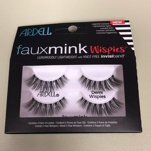 Ardell Makeup - ARDELL fauxmink wispies w/knox-free invisiband